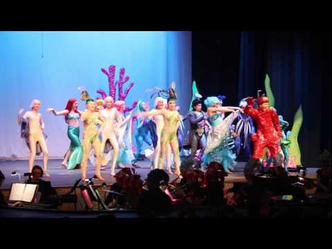 Disney's The Little Mermaid: Under the Sea performed by Delaware Valley High School Drama Club 2017