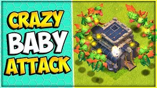 This Town Hall 9 Baby Dragon 3 Star Attack was Insane! | Baby Dragon Electro Dragon | Clash of Clans