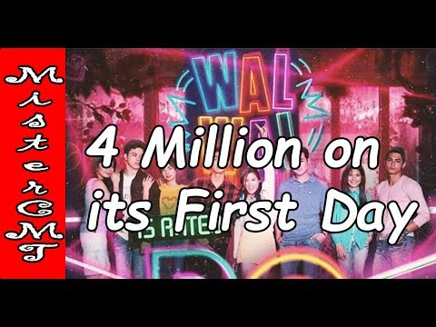 WALWAL 4Million on its First Day (RAW Video)