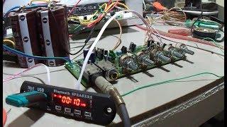 Memasang MP3 untuk Karaokean pakai Power Amplifier 2 x 400 watt Sanken