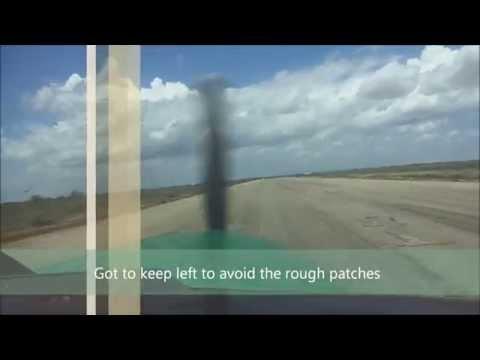 Approach and landing Rwy 04, Baidhabo / Baidoa, Somalia