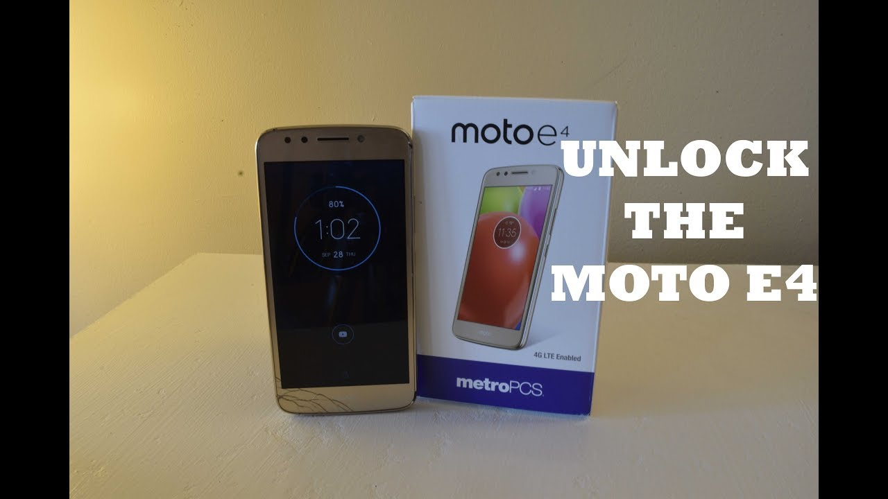 How to unlock the Motorola Moto E4 for any carrier
