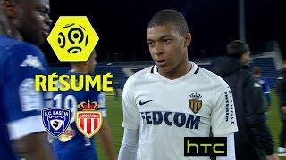 SC Bastia - AS Monaco (1-1)  - Résumé - (SCB - ASM) / 2016-17