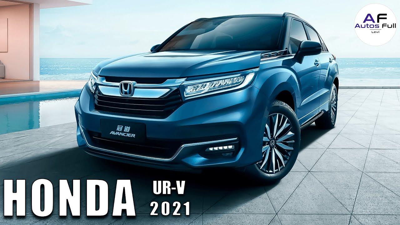 Honda UR V 2021 | Un SUV más Grande que el Honda CR V
