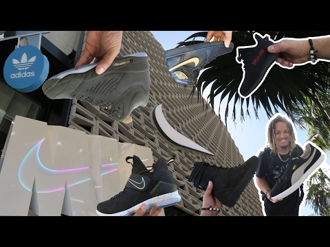 THE BEST SNEAKER SHOPS IN MIAMI !!! SNEAKER VLOG !!!!