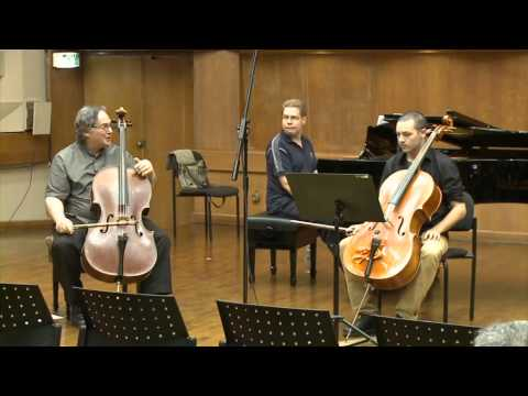 Masterclass with Ralph Kirshbaum (Uriah Tutter, cello)
