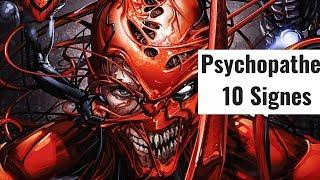 10 Signes Pour Reconnaître un Psychopathe (TEST)