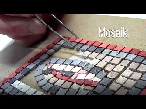 Antikes Mosaik Basteln Modellbau Krippenbau Kunsthandwerk