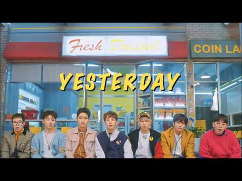 BLOCK B - Yesterday 1 HOUR VERSION/ 1 HORA/ 1 시간