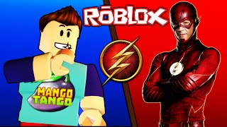 Roblox / The Flash Tycoon / KILLING A SUPERHERO!