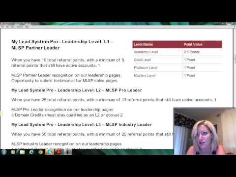 My Lead System Pro Compensation Plan | MLSP Pay Plan and Leadership ...