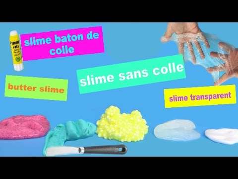 5 recettes slime qui marchent tous les coups slime b ton de colle slime transparente reva. Black Bedroom Furniture Sets. Home Design Ideas