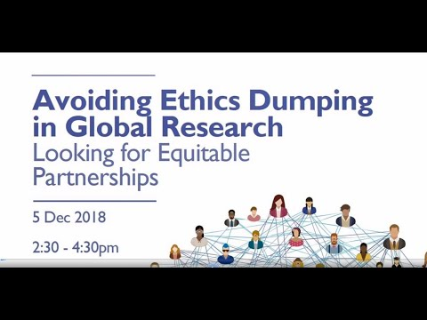 Avoiding Ethics Dumping in Global Research - Looking for Equitable Partnerships