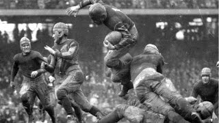 Oldest Football Footage Ever (American Football/Gridiron)