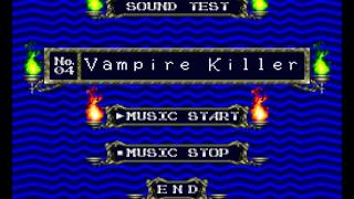 Castlevania - Rondo of Blood (english translation) - Vampire Killer Song - User video