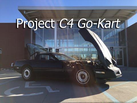 Project C4RT - C4 Go-Kart (1984 Chevy Corvette)