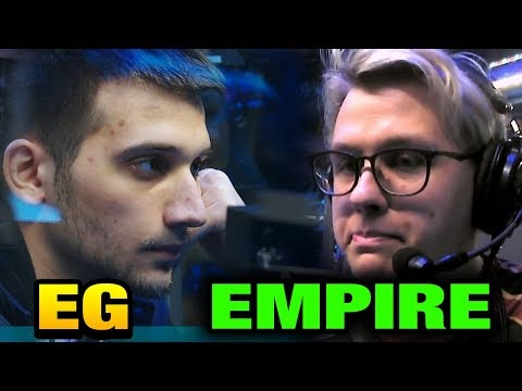EG vs Empire -  NEVER GIVE UP The International 2017 Main Event Dota 2 [Game 1 bo3]
