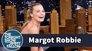 Margot Robbie Unknowingly Followed Prince Harry into a Photo Booth