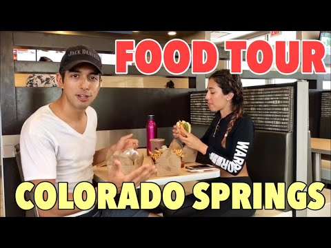 🍟 TOUR OF VEGAN RESTAURANTS IN COLORADO SPRINGS (PART 1)☝️