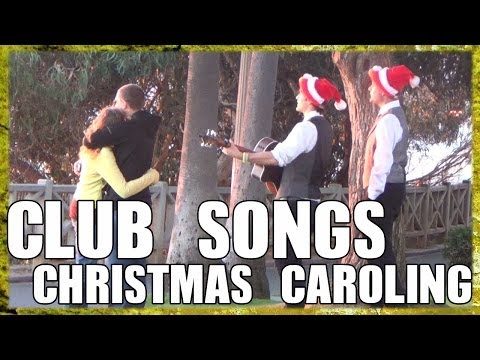Public Prank - Club Songs Christmas Caroling (#5)