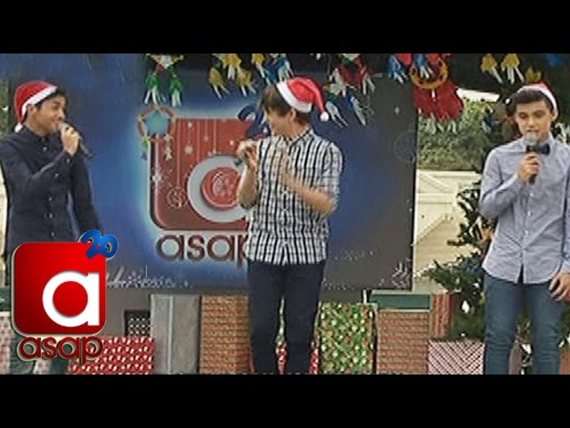 "ASAP: Kapamilya Heartthrobs spread sing ""Santa, Can You Hear Me"""