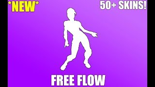 FORTNITE FREE FLOW EMOTE (1 heure)