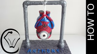 Gravity Defying Spiderman Minion Cake by Cupcake Savvy's Kitchen(Welcome to my Free Step By Step Gravity Defying Spiderman Minion Cake Tutorial. Enjoy! Cupcake Savvy's Kitchen is where I happily reveal all the tips, tricks ..., 2015-11-12T03:18:58.000Z)