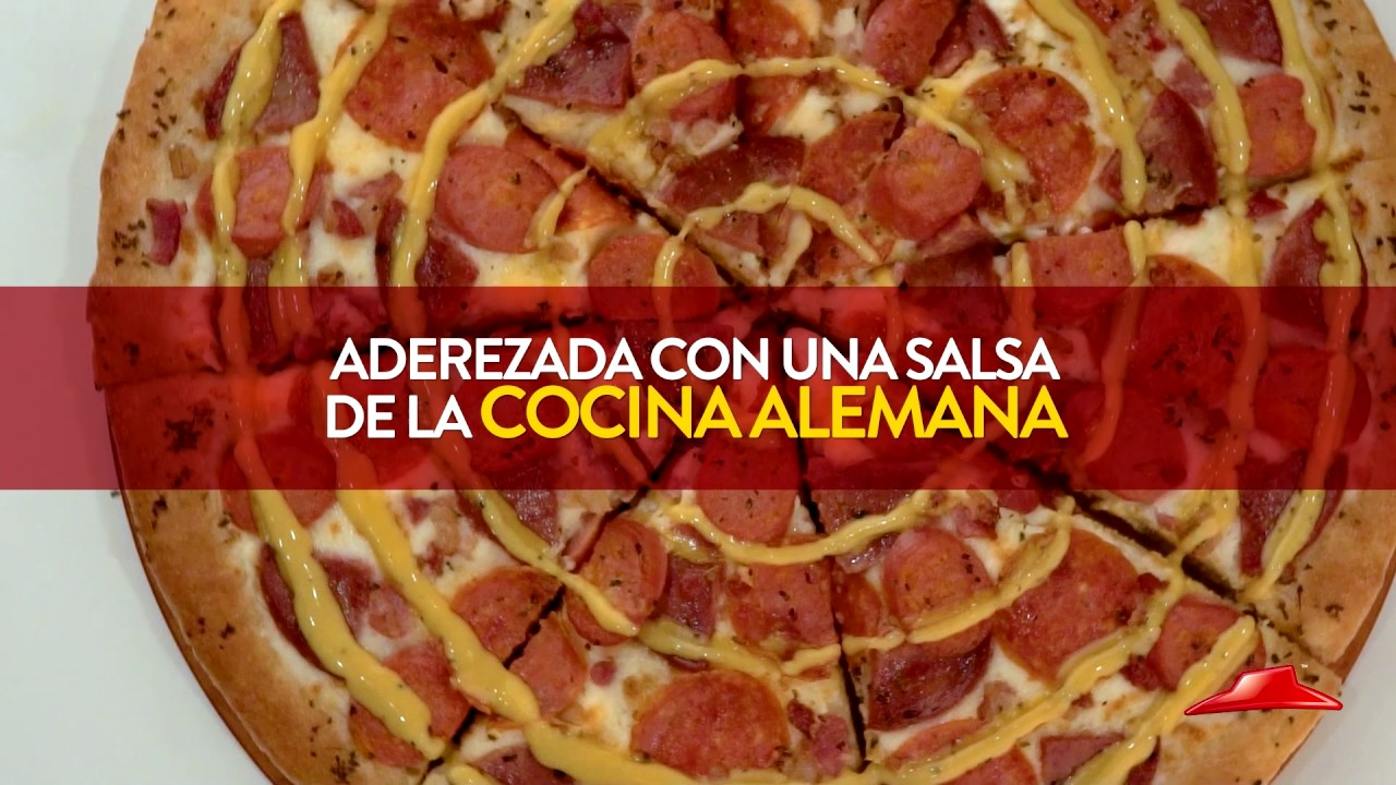 Prueba la nueva especialidad de pizza hut youtube for Oficinas de pizza hut