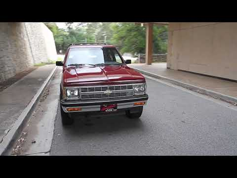 1992 Chevrolet S10 Blazer 4x4 For Sale