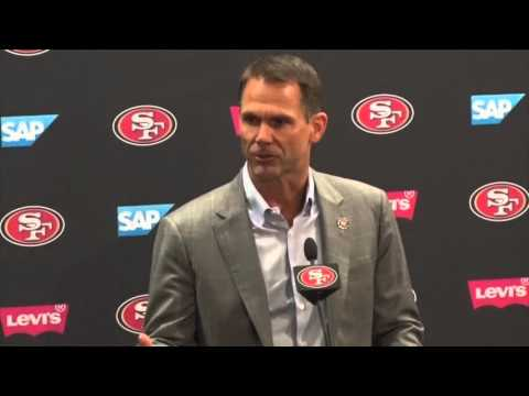 San Francisco 49ers GM Trent Baalke discusses first round picks