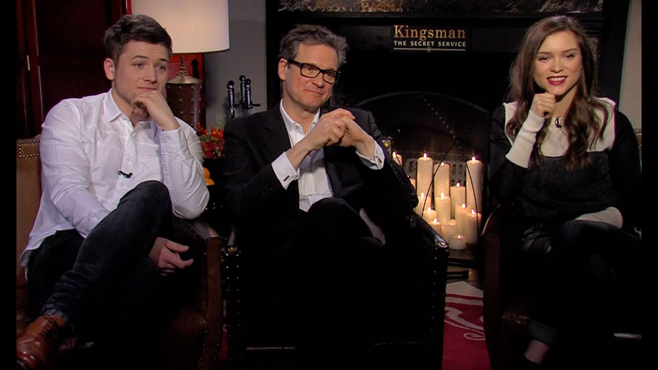 Kingsman The Secret Service Interview Taron Egerton: 'Kingsman: The Secret Service' Interview: Taron Egerton