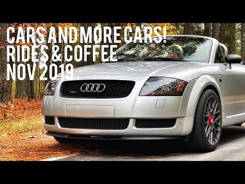 Cars And More Cars! At Rides & Coffee - Cary, NC Nov 2019