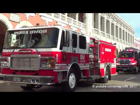 Bomberos SSP | State of Yucatan Fire Corp 2017 parade | 16/09/2017