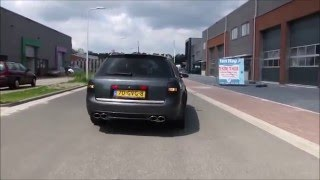 AUDI RS6 4B C5 BEST OF EXHAUST COMPILATION INSANE