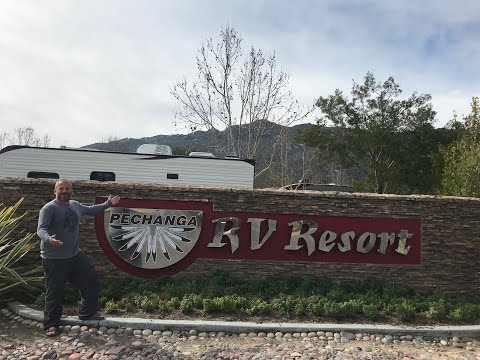 RV Lyfer Visits The Pechanga RV Resort And Casino In Temecula California.