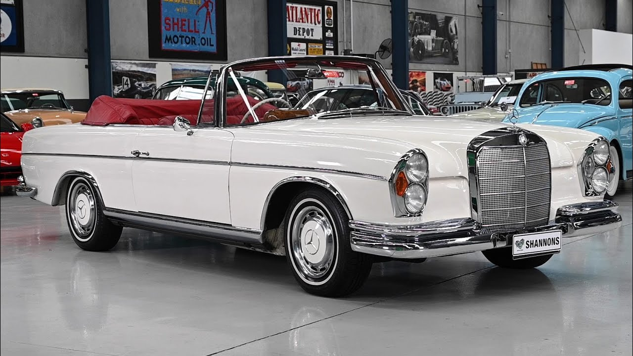 1963 Mercedes-Benz 300SE Cabriolet - 2020 Shannons Winter Timed Online Auction