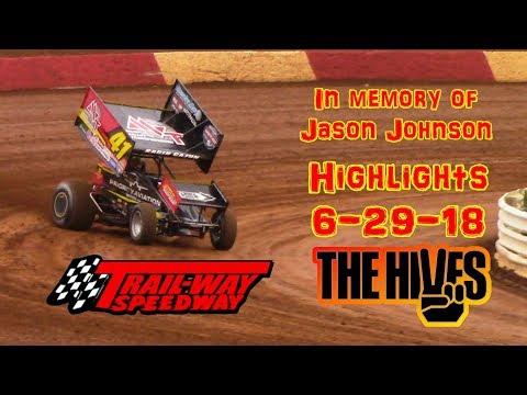 Trail-Way Speedway Highlights 6-29-18
