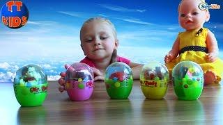 Кукла Беби Борн и Ярослава. Яйца с Сюрпризами в Турции. Игрушки для детей. Doll Baby Born