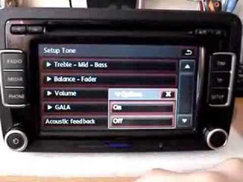 rcd 510 blaupunkt 3c8 035 195 youtube rh youtube com iPod Car Adapter iPod Car Adapter