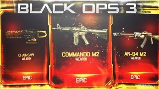 BO3 UPDATE: *NEW* DLC WEAPONS - BLACK OPS 3 JULY UPDATE BO3 2017 SUMMER UPDATE (BO3 New DLC Weapons)