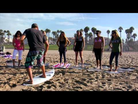 Red Bull Under My Wing with Sofia Mulanovich - Surfing in Huntington Beach, CA