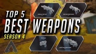 THE TOP 5 BEST WEAPONS IN APEX LEGENDS SEASON 4