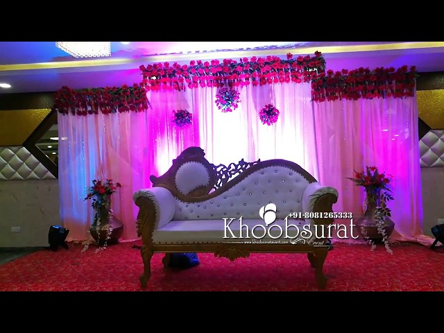 wedding decor # khoobsurat event