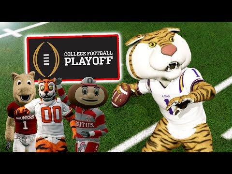 College Football Playoff, But It's Decided By Mascots