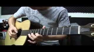 五月天 [傷心的人別聽慢歌(貫徹快樂)] 阿隆老師吉他演奏 (FingerStyle No.17)