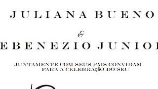 Casamento Juliana e Ebenezio