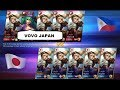 5 Layla vs 5 Layla Japan vs Philippines Mirror Gameplay 6 Minutes