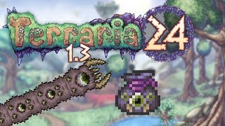 Terraria 1.3 Part 24 - EATER OF WORLDS