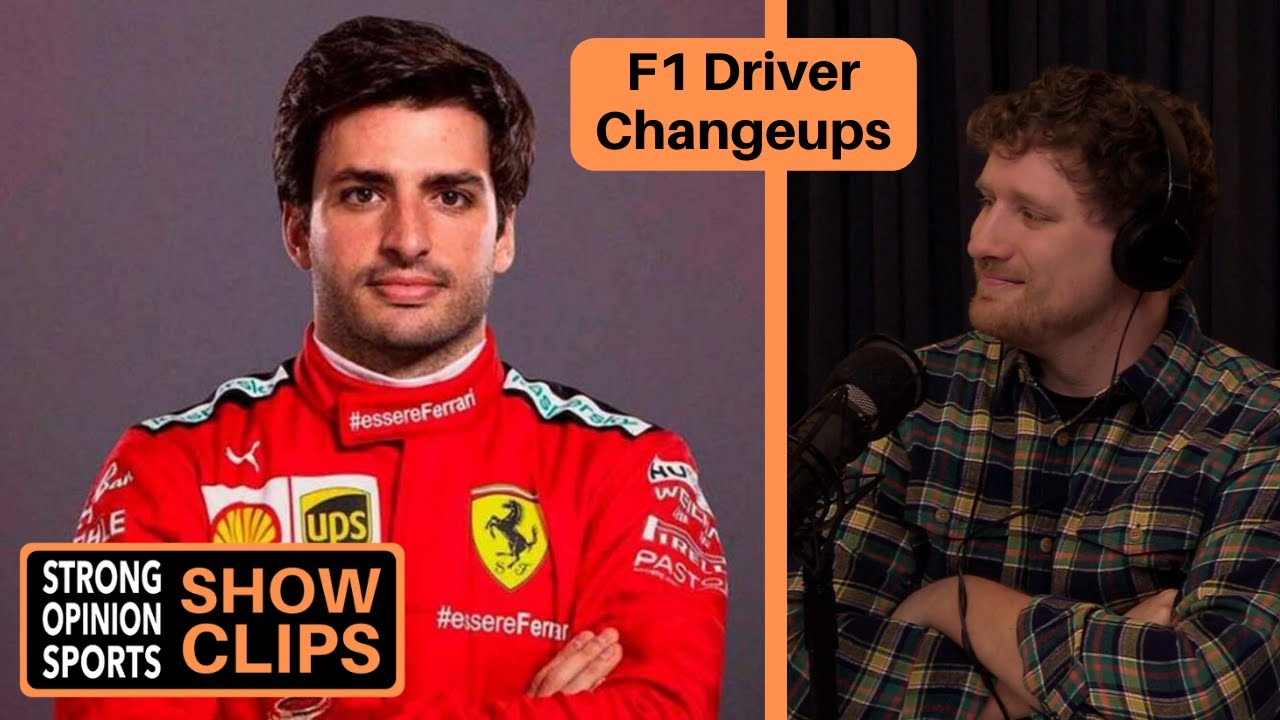 F1 Driver Changeups For 2021