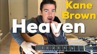 Heaven | Kane Brown | Beginner Guitar Lesson Mp3
